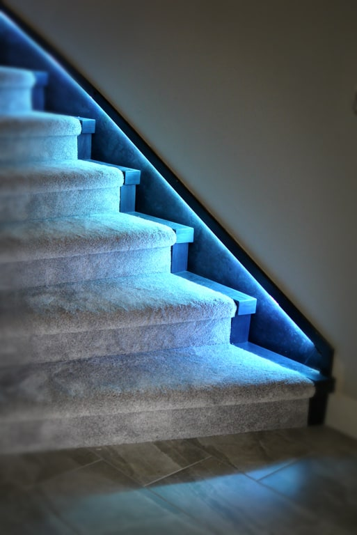 atmospheric lighting option that is appealing and energy saving at the same time.