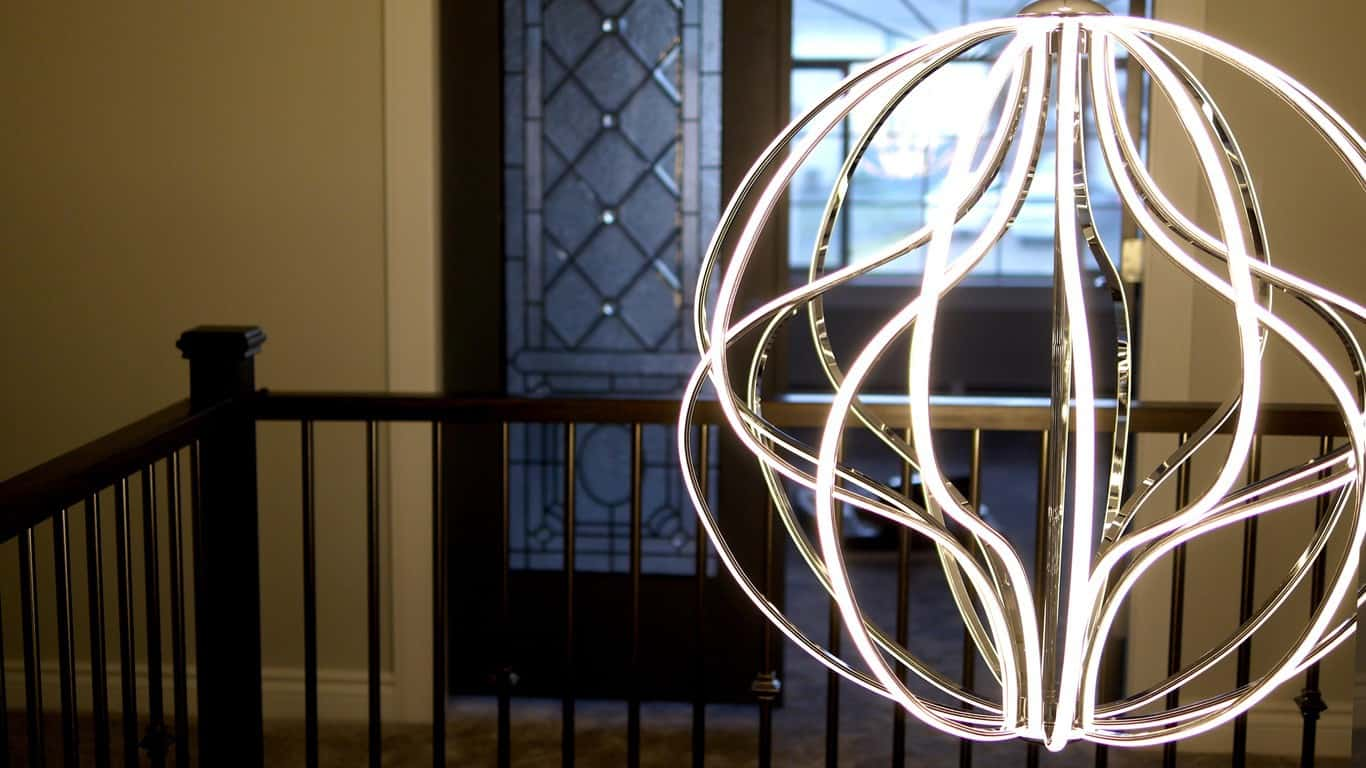 Fully LED chandeliere – A beautiful statement of an energy efficient, more sustainable future.